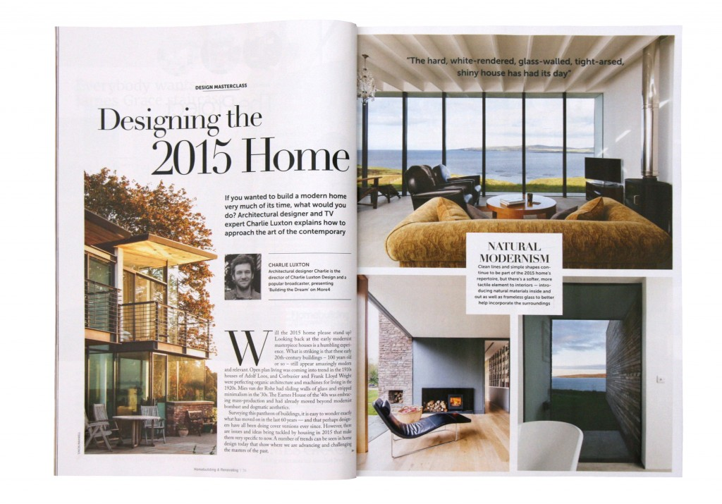 Designing the 2015 Home - Charlie Luxton Design
