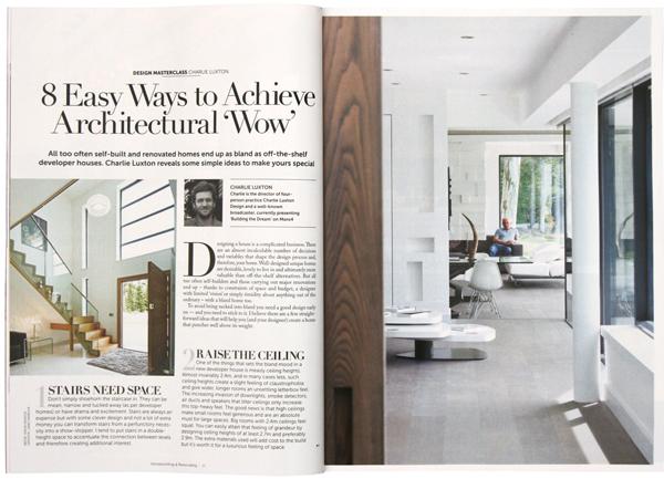 8 Easy Ways To Achieve Architectural Wow Charlie Luxton Design